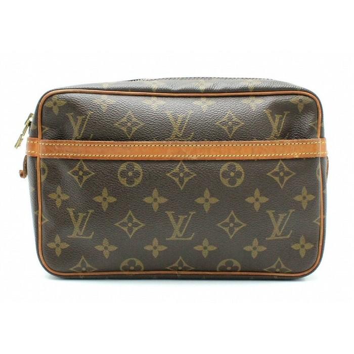 083fe4673b71 Louis Vuitton Handbag Brown Monogram Compiegne 23 M51847 Clutch Bag ...