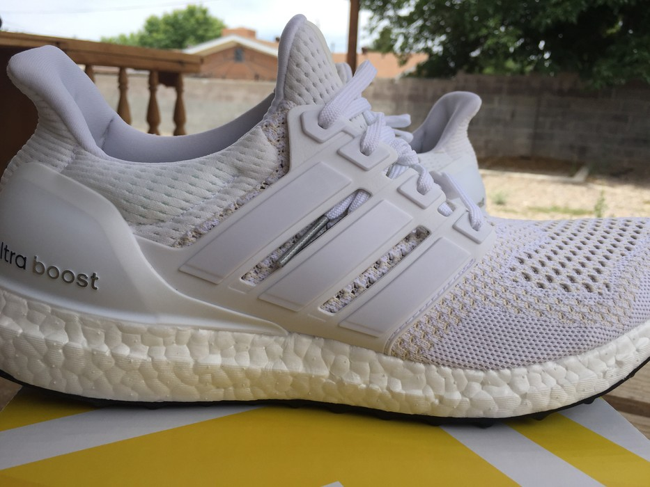 d8c7390234292 Adidas Ultra Boost - Triple White 1.0 OG Size 10 - Hi-Top Sneakers ...