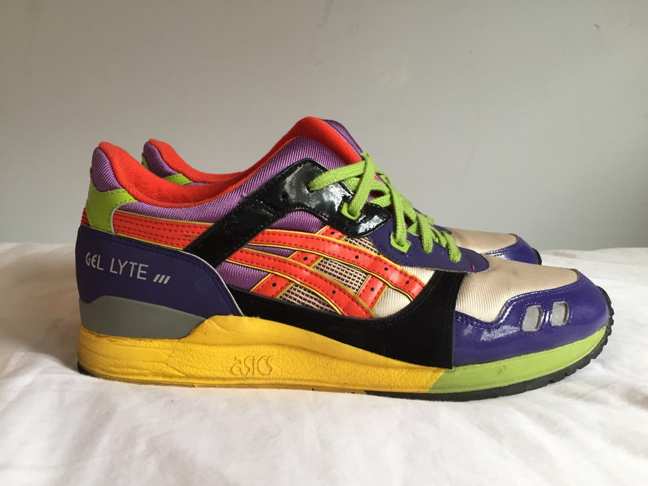 """8a1a65143406 Asics Gel-Lyte III """"252"""" Pack - 2nd RF Collaboration Size 11.5 - Low ..."""