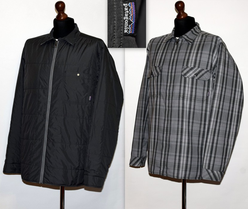 17664be88d4a Patagonia MEN S PATAGONIA REVERSIBLE FLANNEL JACKET SIZE XL P2P 26