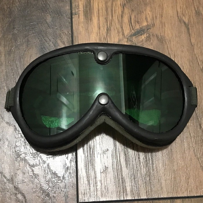 7e4c625d460 Vintage Vintage Military Goggles Sun   Wind   Dust   Ballistic Resistant  Burning Man Size ONE