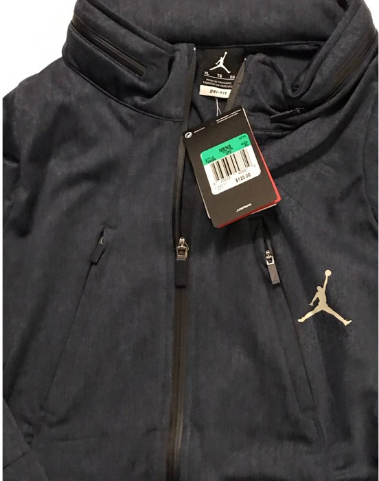 54f2c81555b0 Jordan Brand NWT AIR JORDAN Zip Up Hoodie Basketball Light Jacket ...