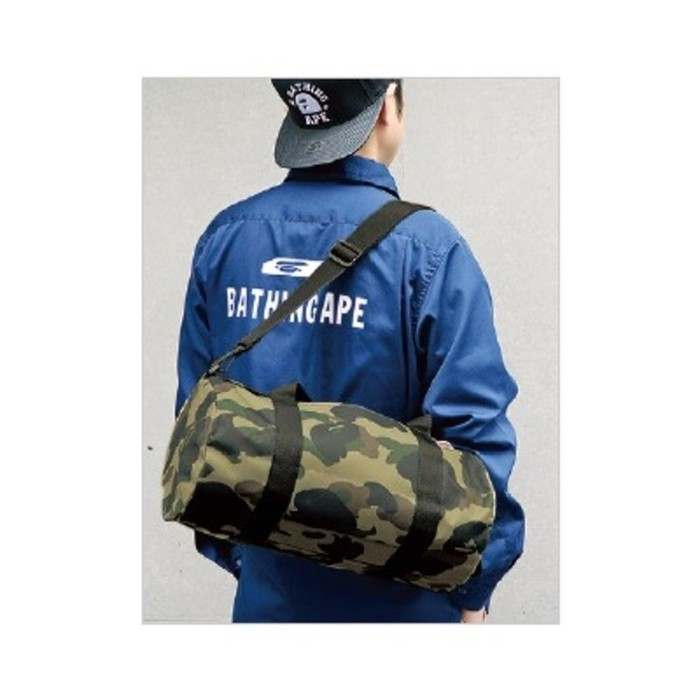 Bape Japan Limited Camo Duffle Bag Size ONE SIZE - 5 90405d1fbace1
