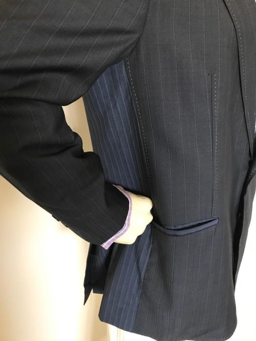 4aaacc6b44f70 Ted Baker 2 BTN Peak Lapel Edge Stitching Blazer Size 44r - Blazers ...