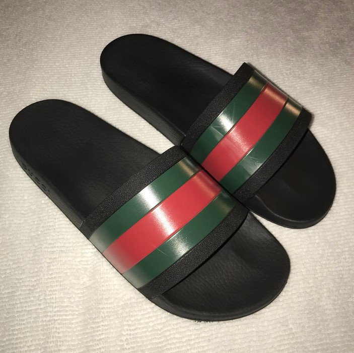 411a9fe6496e6a Gucci Pursuit 72 Slides Size 10 - Sandals for Sale - Grailed