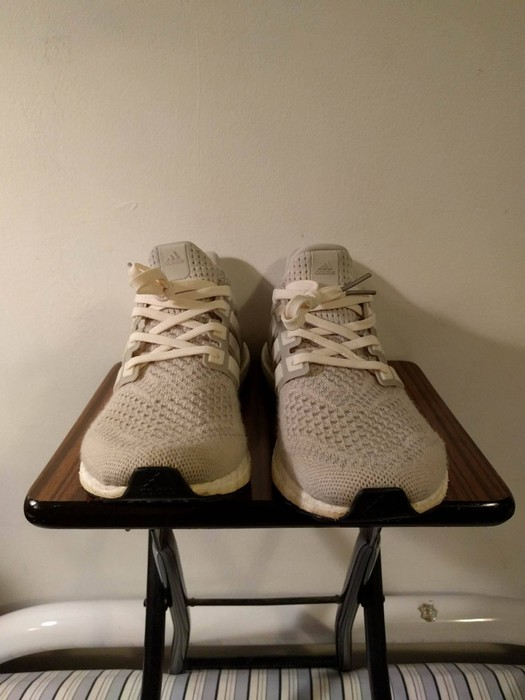 ed8e551603691 Adidas Tan Cream Chalk - Ultra Boost Size 8.5 - Low-Top Sneakers for ...
