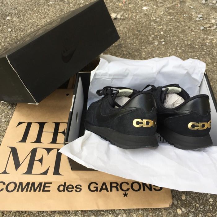 cef713c559e2 Nike Comme Des Garcons X Nike Air Pegasus 83 Gold (Met NYC CDG Exclusive)