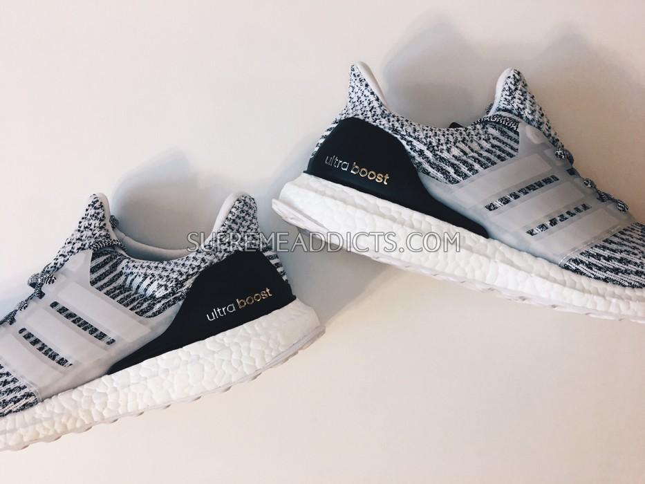 54e2425153dae Adidas ADIDAS ULTRA BOOST 3.0 ZEBRA OREO WHITE BLACK GLITCH 1.0 YEEZY S80636  Size US 8.5