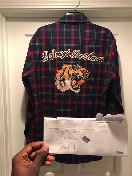 17f167beccf Gucci    LAST DROP DELETING THIS SOON!!    Gucci Wool Tiger ...