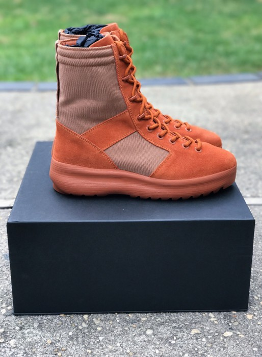 8bc037e0b61 Yeezy Season Yeezy Military Boot Burnt Sienna Size 11 - Boots for ...