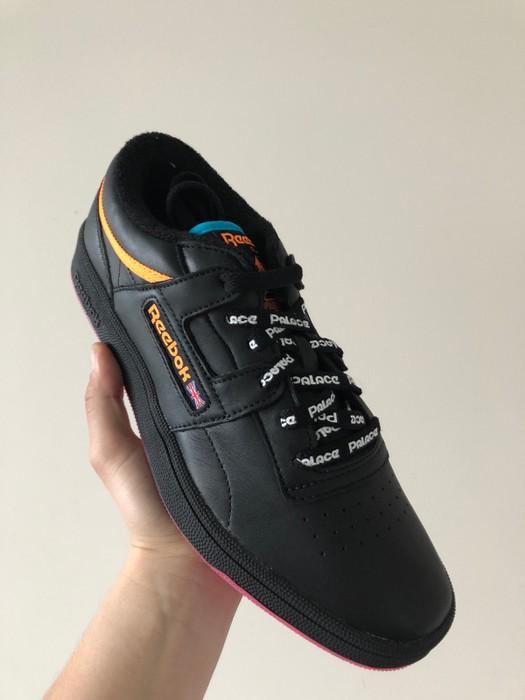 957008bdbbd Palace Palace Club Workout Black Reebok Size 8 - Low-Top Sneakers ...