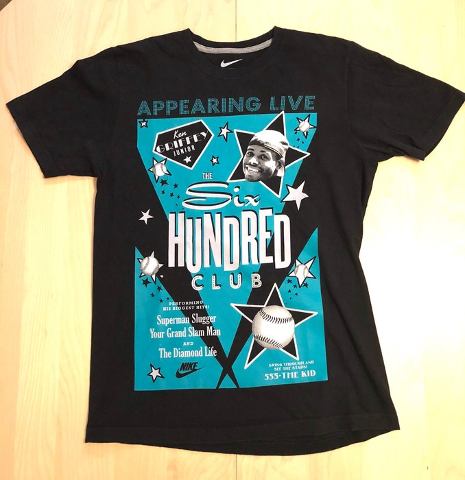a1a72c529705 Nike Vintage Nike Ken Griffey Jr. six hundred club T-Shirt Size m ...