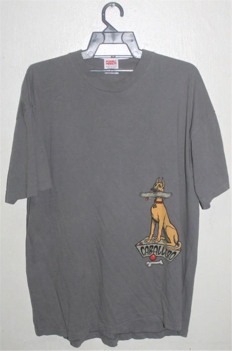 a82722e82441 Vintage VINTAGE POWELL PERALTA STEVE CABALLERO DOG BONES SKATEBOARD T-SHIRT  SKATE PUNK Size US