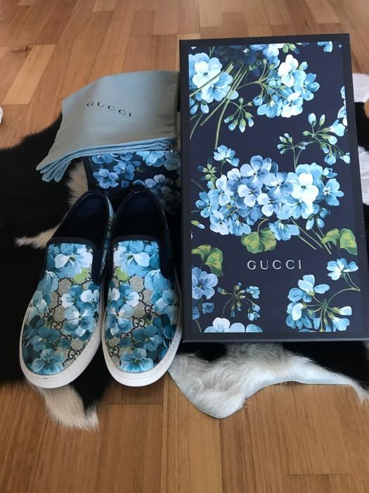 e514772e64a Gucci Gucci GG Supreme Bloom Slip-on Sneakers Size 8 - Slip Ons for ...