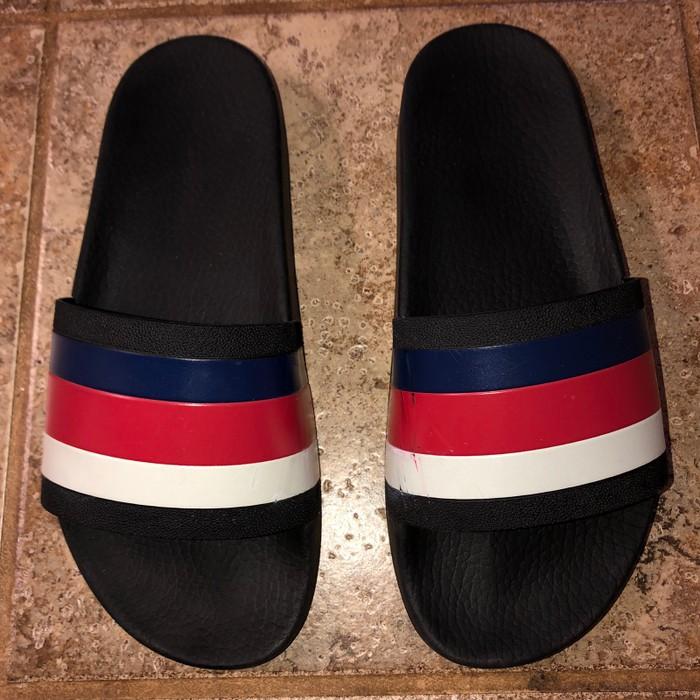 77d437e2d480d Gucci Gucci Flip Flops Slides Red White Blue Size 7 - Sandals for ...