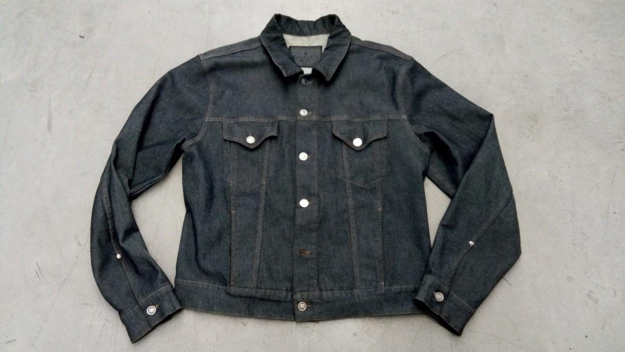 50eabb722040 Gucci Denim jacket Size l - Denim Jackets for Sale - Grailed