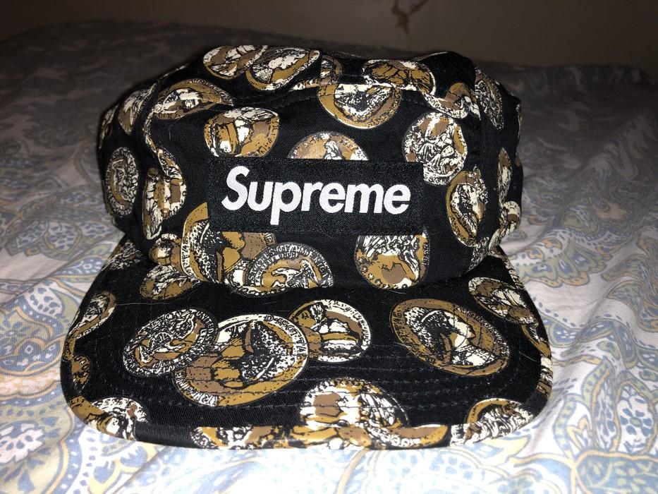 31de44eb84e Supreme Supreme Coin Camp Cap Black Size one size - Hats for Sale ...