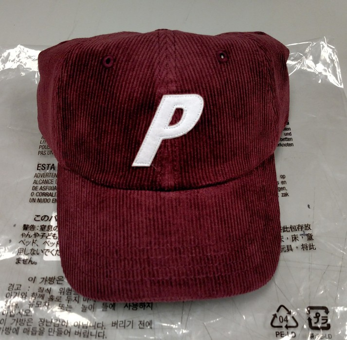 07fc139b036 Palace Palace P-6 Panel Burgundy Corduroy Hat Size one size - Hats ...