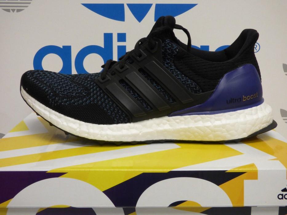 113e3ddcd2c Adidas ultra boost 1.0 OG core black purple (B27171) Size 8.5 - Low ...