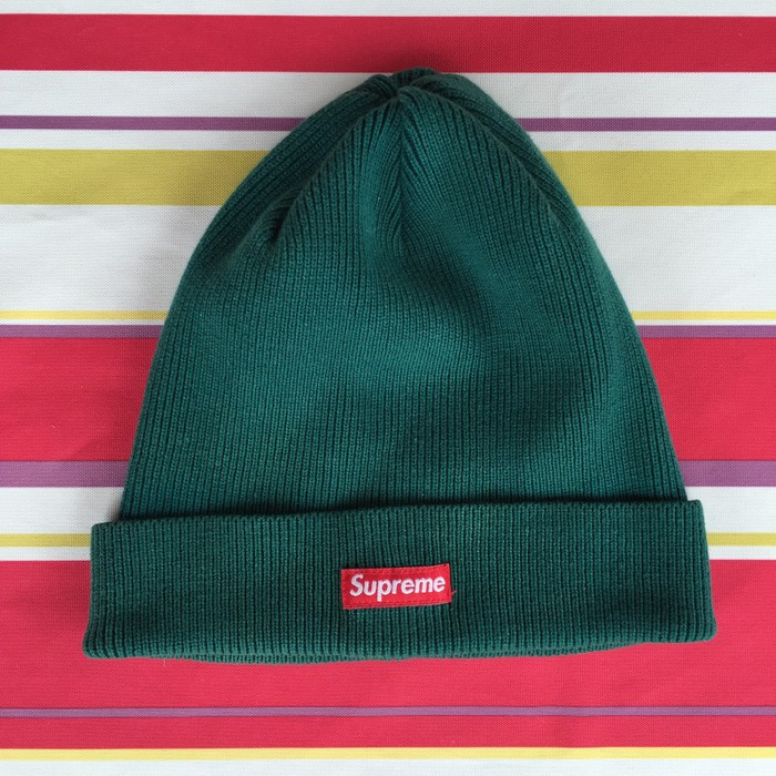 958842424ea6a Supreme Green Supreme Beanie Size one size - Hats for Sale - Grailed