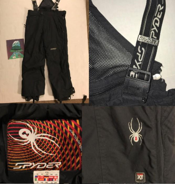 46e3b31707d Vintage SPYDER SNOW SUIT OVERALLS Snowboarding Gear Snowboard Jumpsuit Size  US 29