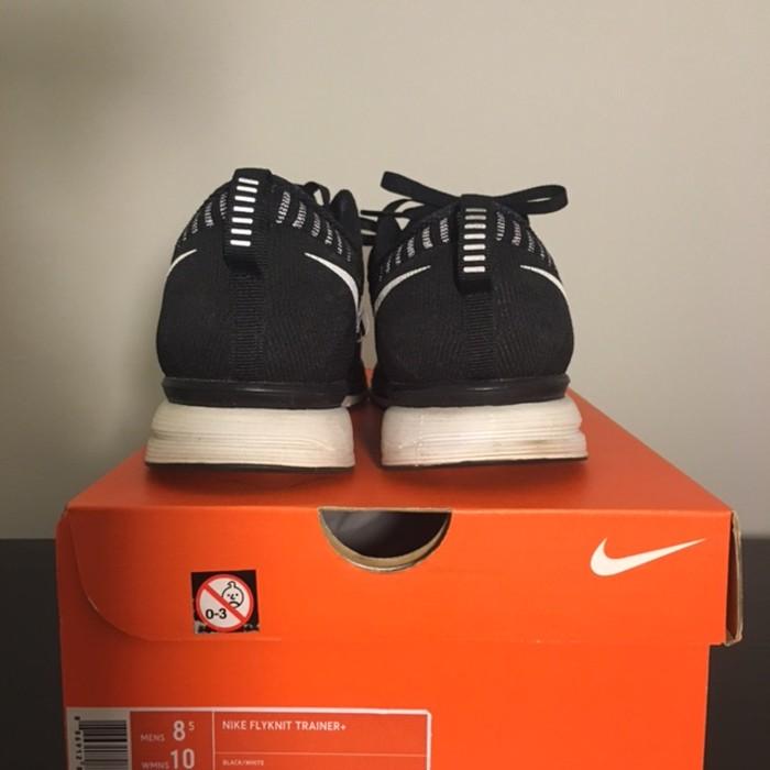 8f3aece18946 Nike Nike Flyknit Trainer Black White US 8.5 Size 8.5 - Hi-Top ...