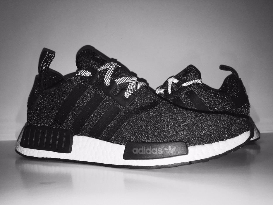 timeless design d4693 d4491 Adidas ADIDAS NMD R1 REFLECTIVE BLACK 3M  S31505  Size 11 - Low-Top
