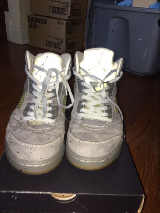 51fe1756e21d Jordan Brand Wolf Grey 5s Size 11 - Hi-Top Sneakers for Sale - Grailed