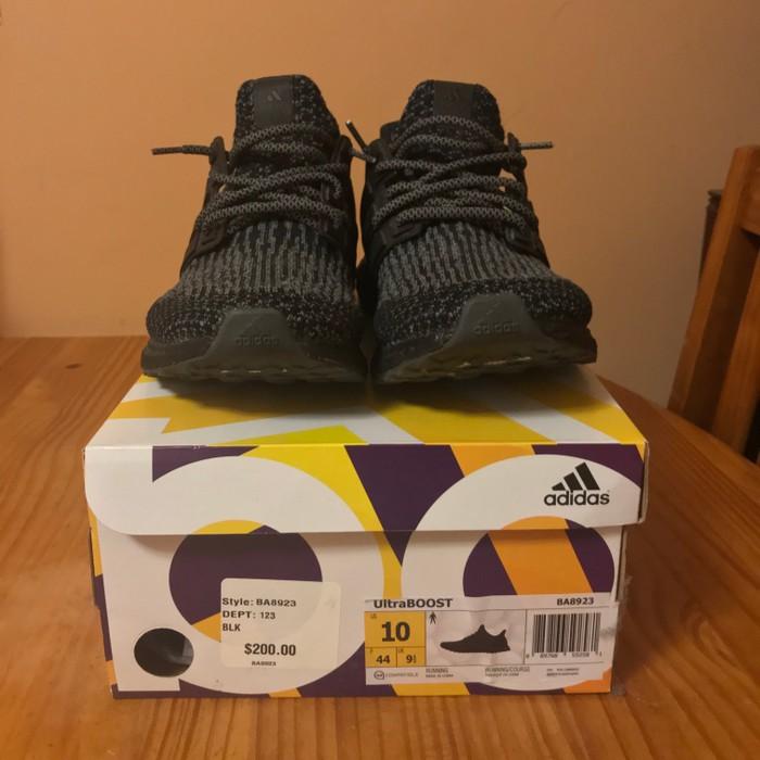 7b8e1f9386483 Adidas Adidas Ultra Boost Triple Black 3.0 Size 10 - Low-Top ...