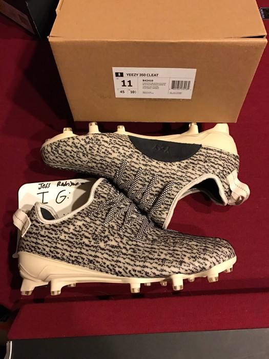 3bfe48aa8 Adidas Kanye West Yeezy 350 Cleat Turtle Dove Size 11 - Low-Top ...