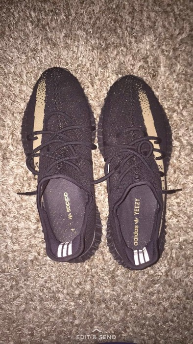 """1c9c615e7 Yeezy Boost Yeezy Boost """"Black Friday"""" Olive Green Size US 11.5   EU 44"""