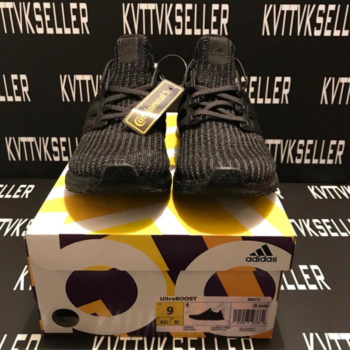 3141633fd3d4e Adidas Triple Black Ultraboost 4.0 (BB6171) Size 9 - Low-Top ...