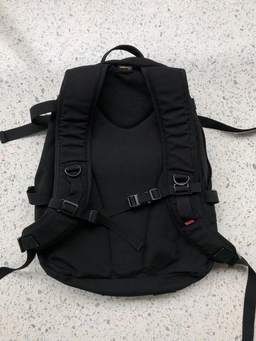 85b98d0980a2 Supreme Rare Red Box Logo Black Supreme Backpack Size one size ...