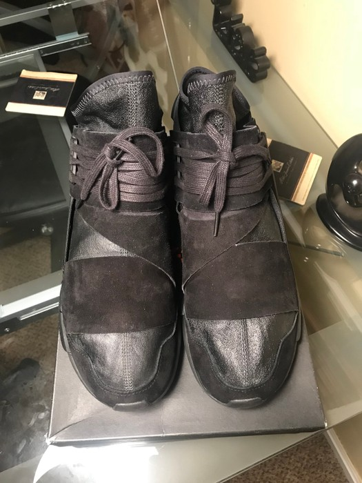 db34acf441104 Y-3 Y-3 Qasa High Lux Size 10 - Hi-Top Sneakers for Sale - Grailed