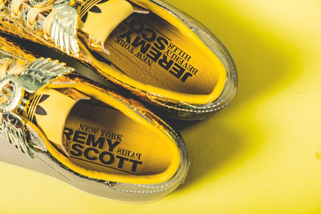 b80456cf642e Adidas Adidas Originals ObyO x JS Jeremy Scott Rod Laver Gold Python Shoes  Trainers size US