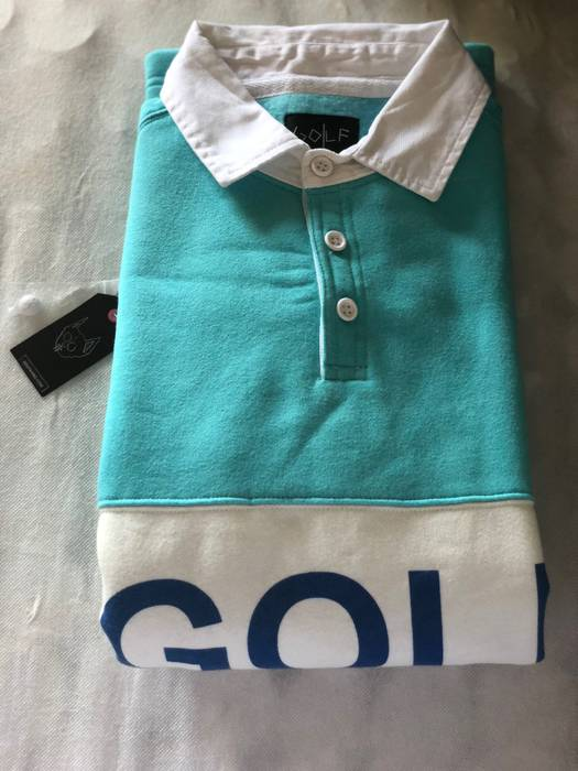 106f61dc8449bb Golf Wang Golf Wang Rugby Polo Shirt Size l - Polos for Sale - Grailed
