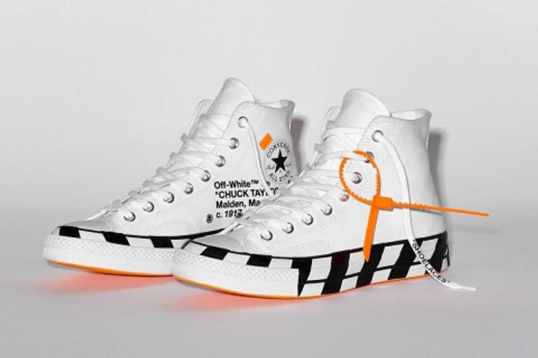 dbb31a13692 Off-White Off-White X Converse Chuck Taylor 70 s All Stars Size 13 ...