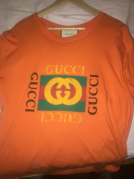 735b7e4ec8e Gucci GUCCI ORANGE TEE Size m - Short Sleeve T-Shirts for Sale - Grailed