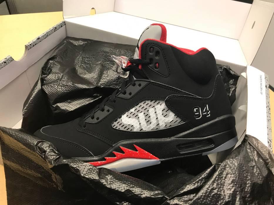 d6398aa5211078 Supreme Supreme   Jordan 5 Size 10 - Hi-Top Sneakers for Sale - Grailed