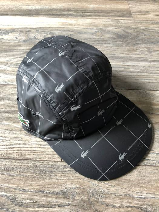 Supreme 🐊 Supreme Lacoste Colab Nylon Running Hat 🏃🏽 ♂ 🇺🇸+ ... 6520ff6d215