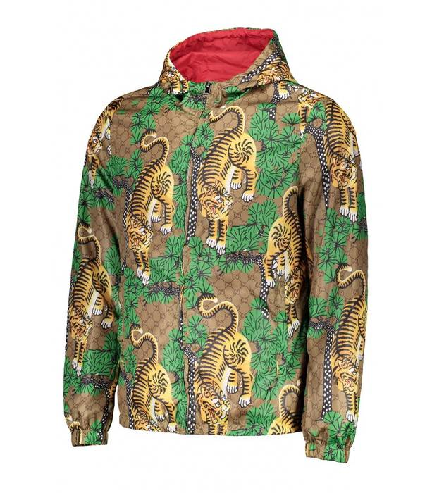 3c6f1944eb6 Gucci Gucci bengal print nylon jacket Size s - Light Jackets for ...