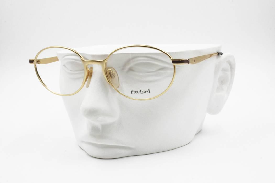 dbfa9248522 Vintage Free Land FL 120 Oval eyeglasses frame