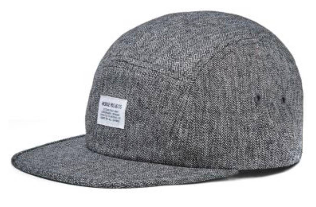 Norse Projects Norse Projects Melange 5-Panel Cap Size one size ... a3c6abc33f4