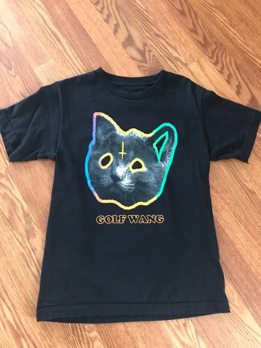87f1682d06e2 Golf Wang Golf Wang Tron Cat Tee Size s - Short Sleeve T-Shirts for ...