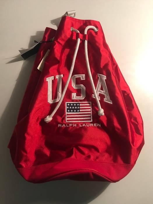 93a3a20e1e Polo Ralph Lauren Vintage Polo Sport Book bag Size one size - Bags ...