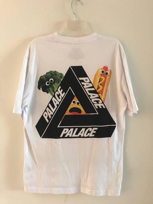 44e7cef306f9 Palace Palace Payne Tee White Food Tri-Ferg Size m - Short Sleeve T ...