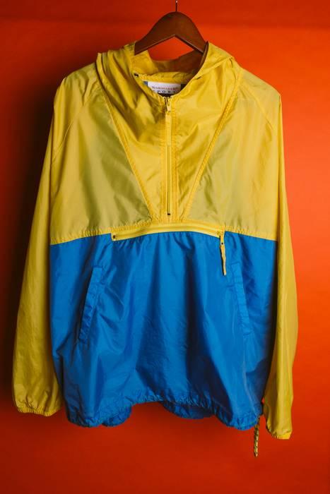 589b06c45 Vine Sailing Gear Light Blue Yellow Anorak Windbreaker