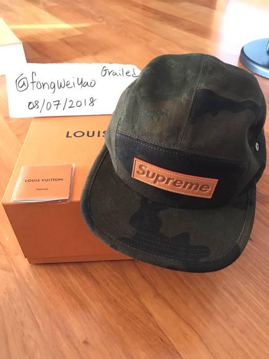 Supreme 5 Panel LV Monogram x Supreme BOGO Cap Size one size - Hats ... e583feaa275