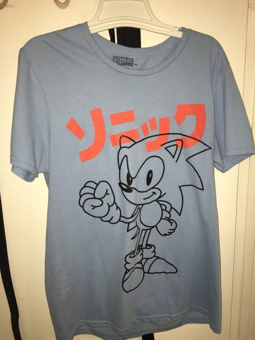 Vintage Vintage Sonic The Hedgehog T Shirt Size M Short Sleeve T