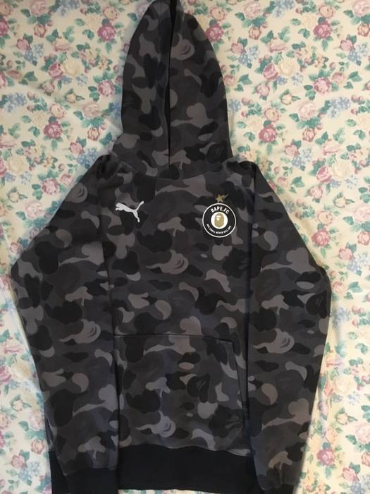 337090f2e Bape Bape X Puma Black ABC Camo Pullover Hoodie Size m - Sweatshirts ...